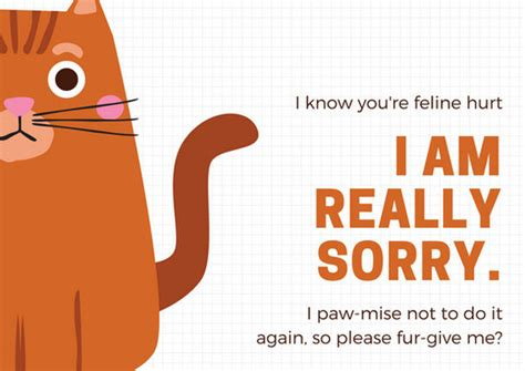 customize  apology card templates  canva