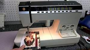 Singer Touch-tronic 2000 Test  Deb  K