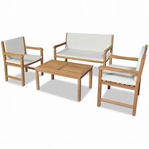 Gartenmöbel Set 8 Personen : nur set von 4 personen gartenm bel aluminium wpc interouge ~ Orissabook.com Haus und Dekorationen
