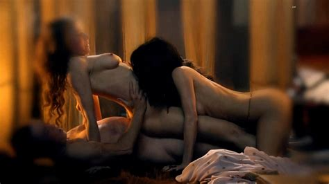 Celebnude Lucy Lawless In Spartacus Nude Scenes Compilation