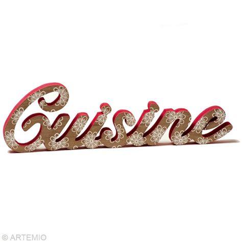 lettre cuisine deco objet déco cuisine idée de bricolage idées conseils et tuto décoration