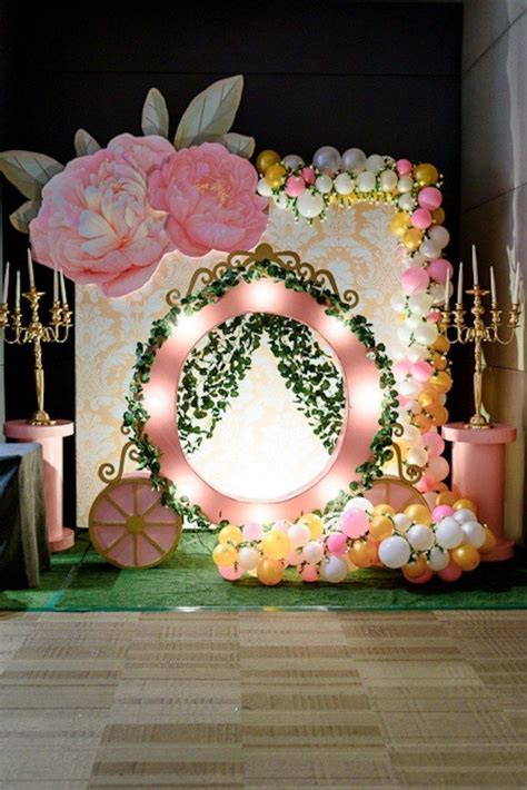 decoration birthday princess birthday ideas