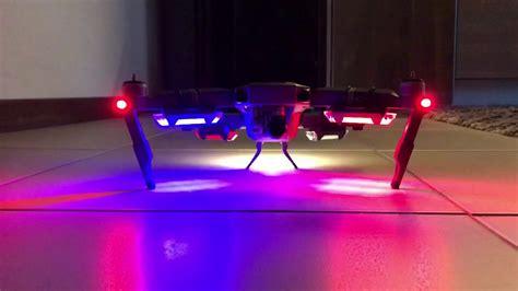 dji mavic pro usb rechargeable led lights youtube