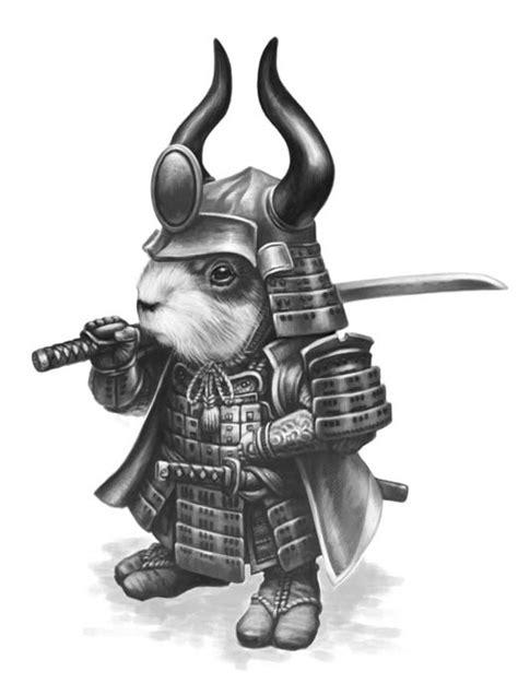 Guinea Pig Samurai - Critter Kingdoms™ Anthropomorphic