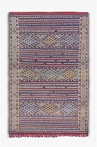 Tapis Berbere Bleu : tapis kilim bleu tapis b rbere acheter en ligne ~ Teatrodelosmanantiales.com Idées de Décoration