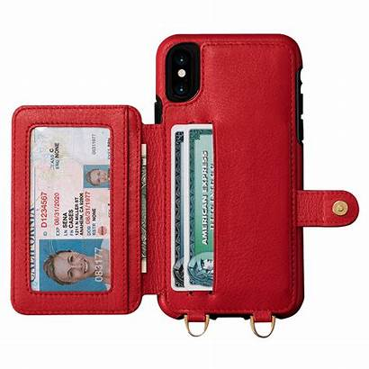 Isa Case Crossbody Snap Iphone Wallet Leather