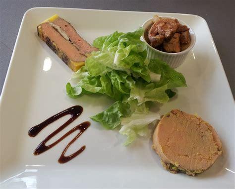 faire un roux cuisine decoration assiette de foie gras photo