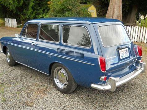 Buy Used 1968 Vw Type Iii Squareback In Longview