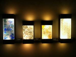 wall art with led lights the art of the future warisan With led wall art