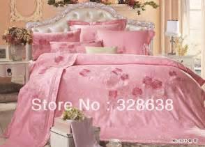 pink rose bedding sets king size comforter sets queen size duvet quilt cover sets silk bedspread