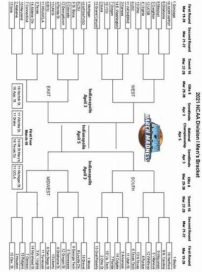 Bracket Ncaa Madness March Printable Final Four