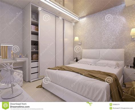 chambre a coucher blanche chambre orange et blanche