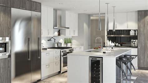 cuisine en l moderne design et conception de cuisines moderne sur mesure