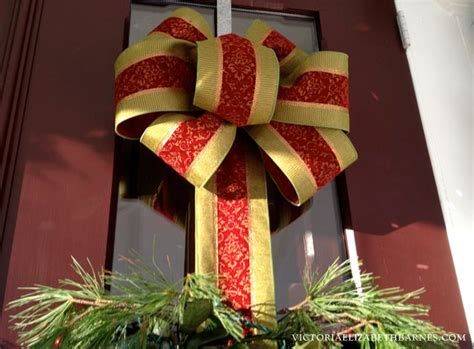 step by step how to make christmas decor how to make a bow step by step for decorating and wreaths hometalk