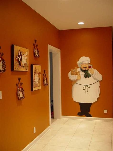 Chef Kitchen Decor by Wall Sticker To Add To Chef Collection In The Kitchen