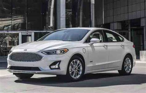 ford fusion ford  model