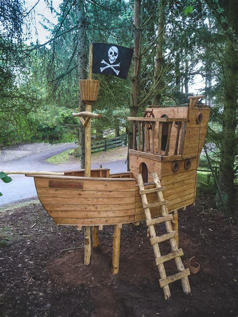 backyard pirate ship plans play structures tree houses wildchild designs