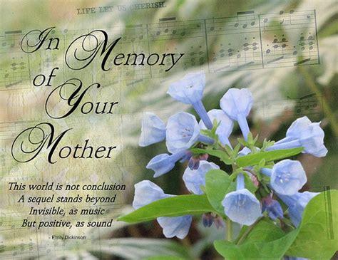 Imágenes De In Memory Of Mother Quotes
