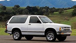 The Chevy S-10 Blazer Joins The Lineup In 1983