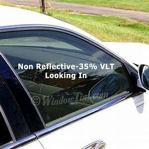 Professional Non-Reflective 35% VLT Car Window Tinting