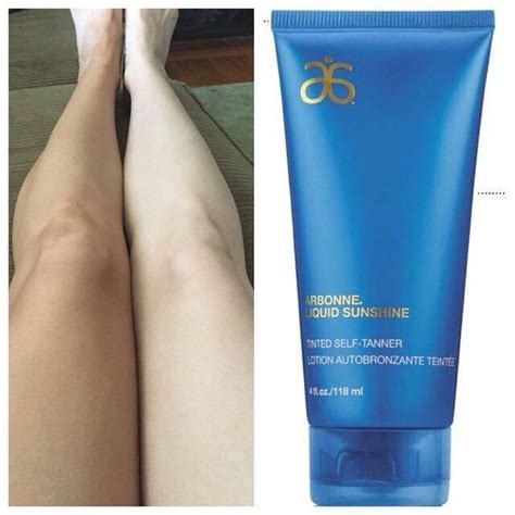 Finally Self Tanner That Really Works Arbonne Liquid