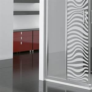 Stickers Porte Salle De Bain : stickers muraux pour portes de douche illusion optique ~ Dailycaller-alerts.com Idées de Décoration