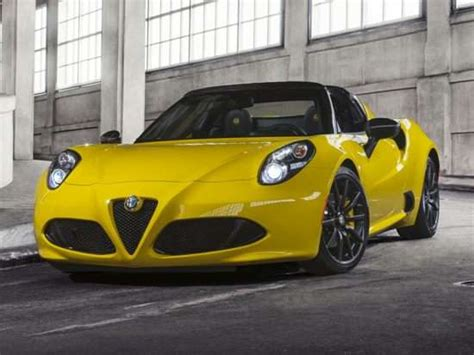 2015 Alfa Romeo 4c Msrp by 2019 Alfa Romeo 4c Spider Models Trims Information And