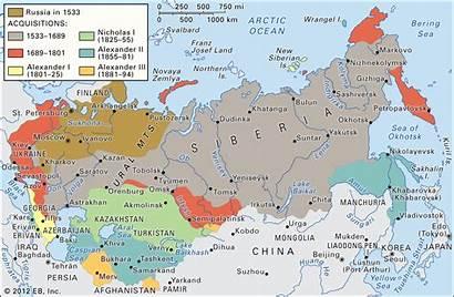 Empire Russian Russia Expansion Britannica Asia Rusia