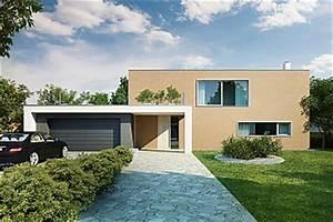 Projekty rodinných domů s plochou střechou