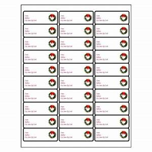 funky christmas labels free templates image example With word label template 16 per sheet a4
