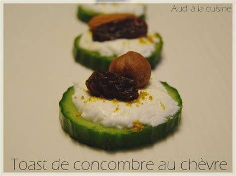 aud a la cuisine toast de concombre au chèvre aud 39 à la cuisine