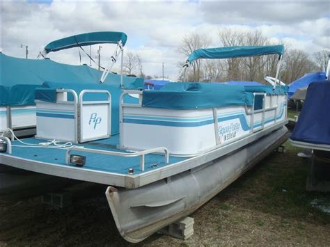 aqua patio pontoon bimini top 1994 used aqua patio 240 pontoon boat for sale 2 995
