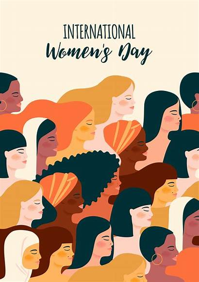 Different International Womens Nationalities Vector Illustration Cultures