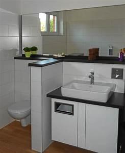 Mülleimer Bad Design : kompakter waschtisch mit m lleimer f r papierhandt cher badezimmer m bel badezimmer ~ Orissabook.com Haus und Dekorationen