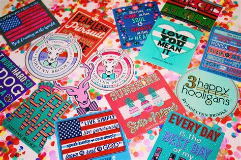 jadelynn stickers confetti jadelynn