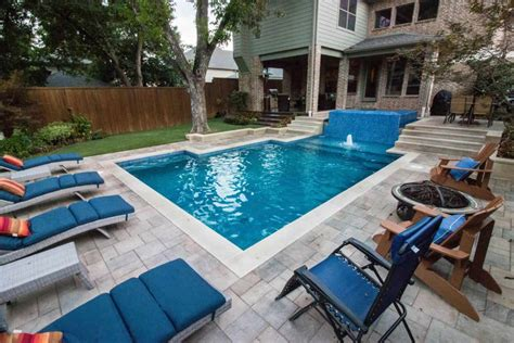 Pool Design Ideas by Pool With Raised 360 Degree Negative Edge Spa Summerhill