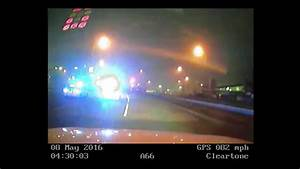 Dramatic dashcam footage shows breakneck police chase ...