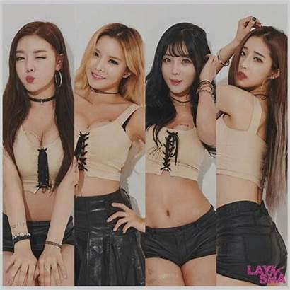 Laysha Groups Pop Hyeri Goeun Dance Som