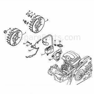 Stihl Ms 231 Chainsaw  Ms231 Z  Parts Diagram  Ignition System  U0026 Wiring Harness