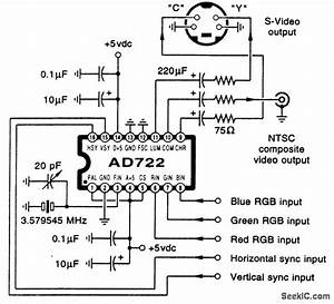 Tv Converter  Vga To Tv Converter Circuit Diagram