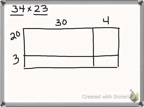 expanded algorithm  multiplying  digit   digit