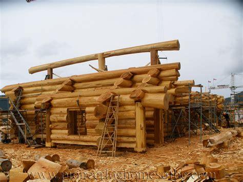 eagle brae highland custom built log homes pioneer log