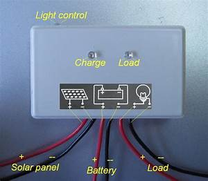 10 Watt Solar Panel 10w 12v   5a Solar Controller Regulator Charger