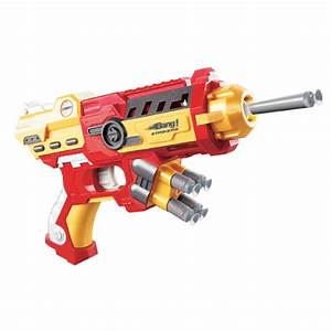 Bang Prinio Gun Toy Gun With Soft Bullets- Golden