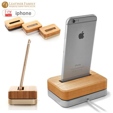 wooden iphone station aliexpress buy for iphone 7 wooden bamboo vertical