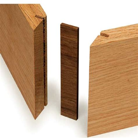 splined miter joint woodworking joints wood diy wood