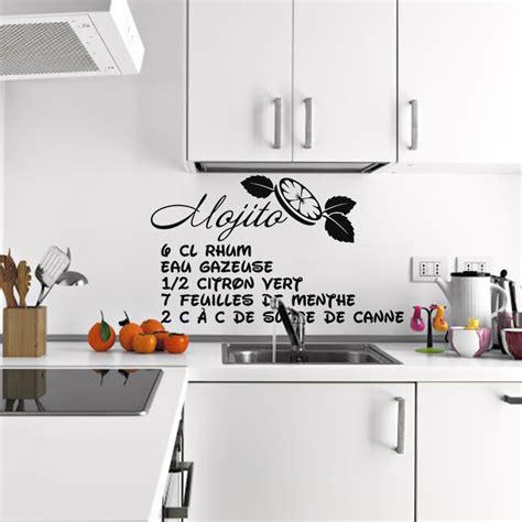 stickers recette cuisine stickers muraux cuisine ciabiz com