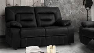 canape de relaxation moderne 2 places electrique adana With tapis enfant avec canapé cuir relax electrique 3 places monsieur meuble