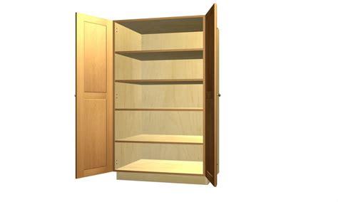 Unfinished Tall Kitchen Corner, Kitchen Pantry Storage