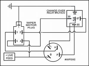 2 Speed Rotary Wiper Switch - Car Builder Solutions